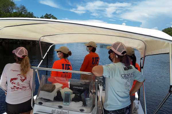UF MAR and partners on the Steinhatchee River